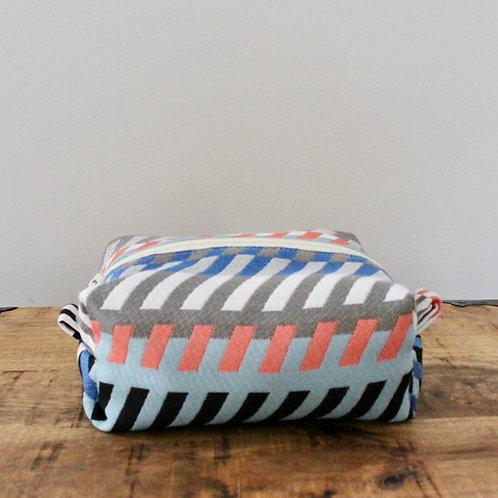 Striped Mod Kit Toiletry Bag in Multi-Color