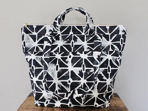 Luna Phee Zippered Small Weekender Tote Bag