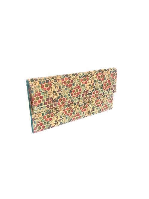 Mosaic Cork Nelle Clutch