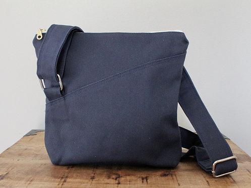 Navy Eleanor Crossbody Bag