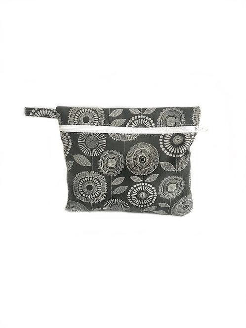 Gertie Grey Flowers Wet Bag