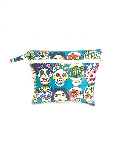 Sugar Skull Gertie Wet Bag