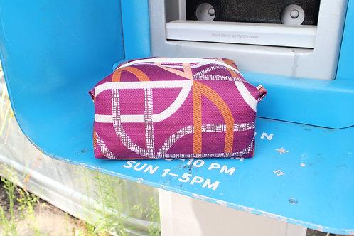 Circular Mod Kit Toiletry Bag in Fuchsia