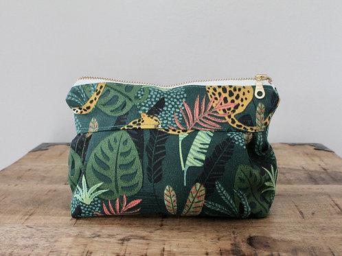 Leopard Dolly Make-Up Bag