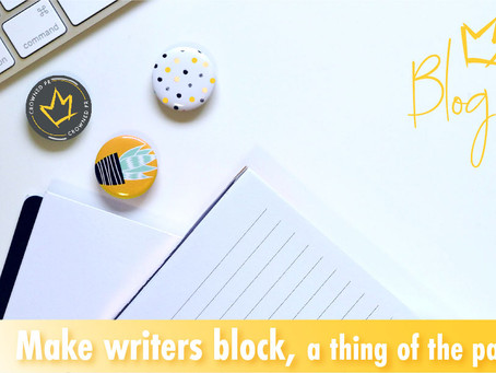 Make Writers Block a Thing of the Past