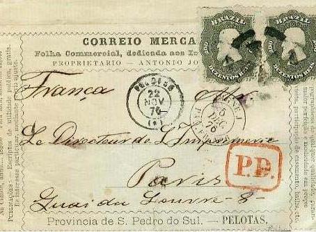 A Convenção Postal Brasil-França de 1874 | Klerman Lopes