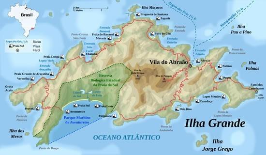 Fig 1 - A Ilha Grande