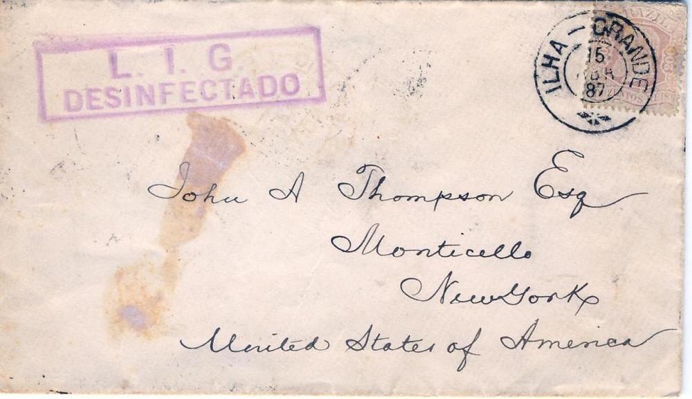 Fig 7 - Frente da carta