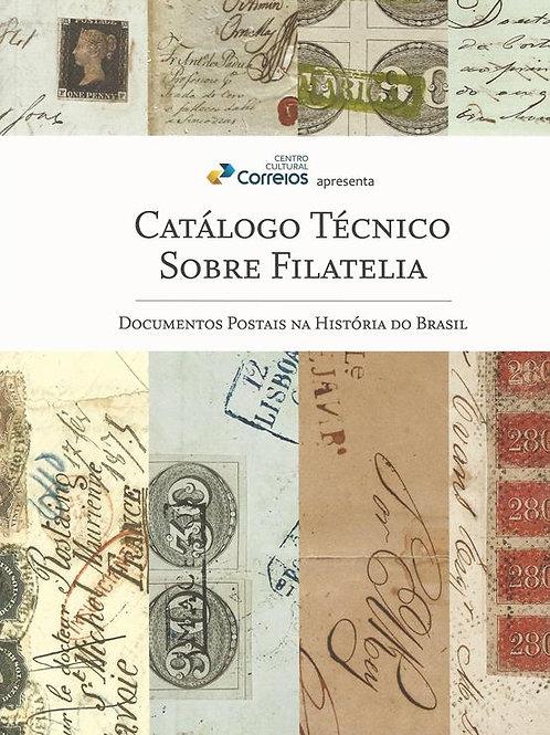 Catálogo Técnico sobre Filatelia - Everaldo Nigro dos Santos - FRETE INCLUSO