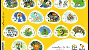 Nova emissão das olimpíadas: Nossos Selos Rio 2016!