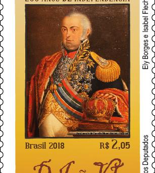 Série 200 anos de Independência - Bicentenário da Aclamação de D.João VI