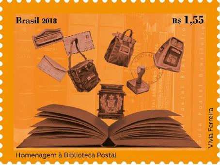 Nova Emissão - Homenagem à Biblioteca Postal
