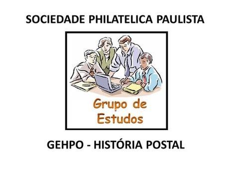 Reunião Grupo de Estudos de História Postal