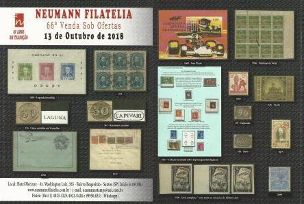 66ª Venda Sob Ofertas – Neumann Filatelia