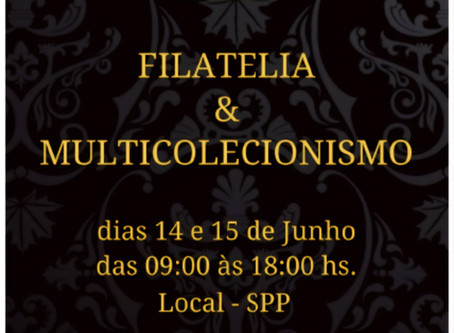 6º Encontro São Paulo de Filatelia & Multicolecionismo