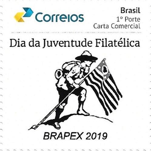 Selo Personalizado Dia da Juventude Filatélica - BRAPEX 2019