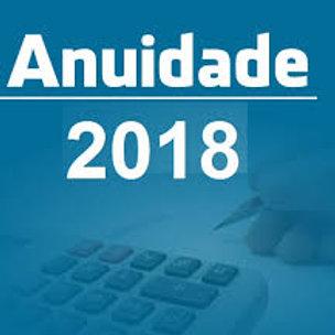 Anuidade 2018 - Associado Deliberante