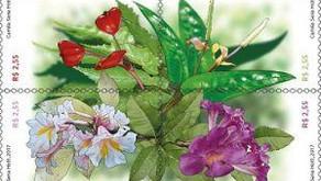 Emissão Postal Especial - Flores da Mata Atlântica