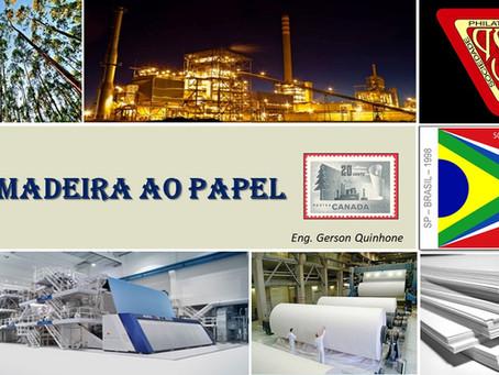 Palestra: Da Madeira ao Papel - Gerson Quinhone