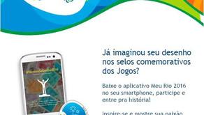 Correios lançam aplicativo para as Olimpiadas!!!