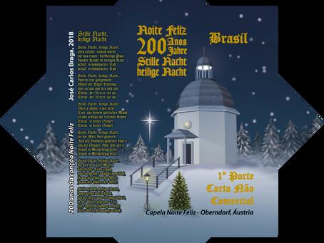"""Emissão Postal - Natal 2018 – 200 anos da canção """"Noite Feliz"""""""