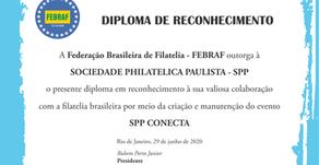 FEBRAF outorga ao SPP Conecta diploma de reconhecimento e apoio