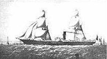 Fig. 1 - Maquete do Guienne - Câmara de Comércio de Marselha