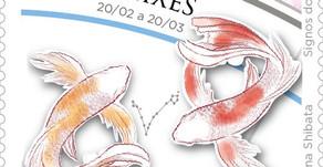 Lançamento   Emissão Postal Especial - Signos do Zodíaco: Peixes