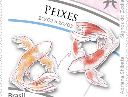 Lançamento | Emissão Postal Especial - Signos do Zodíaco: Peixes