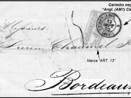 Marcas de entrada na França pela via inglesa de 1800 a 1860 | Philippe Damian e Klerman Lopes