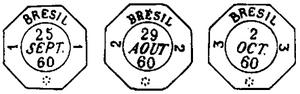 Fig. 2 - Carimbos da Agências Consulares