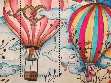 Emissão Postal Especial – Balonismo
