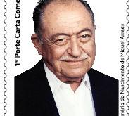 Nova emissão dos Correios - Homenagem a Miguel Arraes