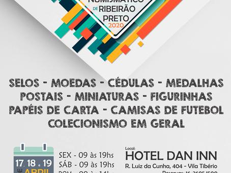 Encontro Filatélico e Numismático de Ribeirão Preto - 2020