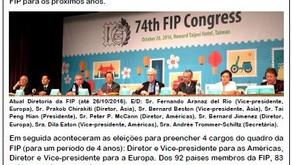 Brasileiro é eleito vice presidente para as Américas na FIP
