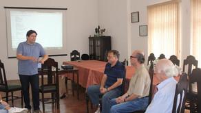 Ata da 1º Reunião dos Grupos de Estudos Filatélicos!