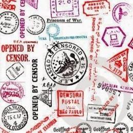 SPP Conecta | Show and Tell - Recortes de Censura Postal no Brasil e Exterior
