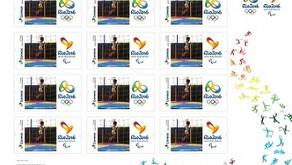 Correios lançam novos selos personalizados referentes as olimpíadas Rio 2016