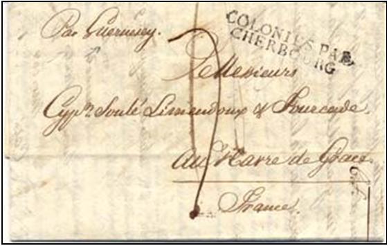 Fig. 2 – Do Rio de janeiro a Le Havre via Guernesey e Cherbourg