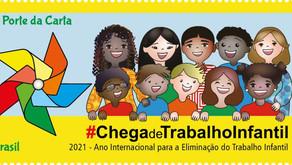 Emissão Postal Especial | 2021 - Ano Internacional para a Eliminação do Trabalho Infantil