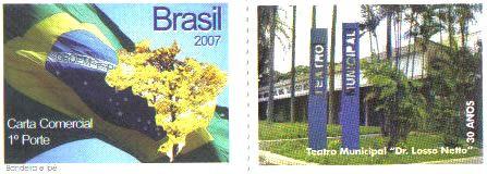 Carimbo Comemorativo da Piracicaba 2008