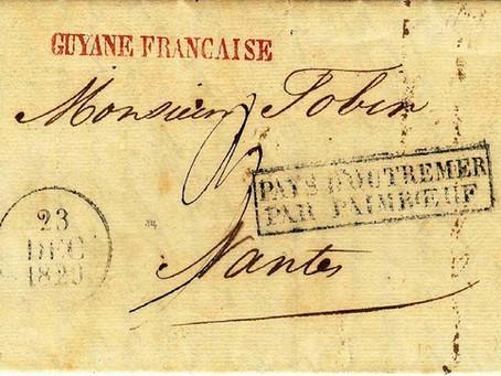 História de uma carta - CARTA DE 1829 DO PARÁ PARA NANTES, FRANÇA | Klerman Lopes