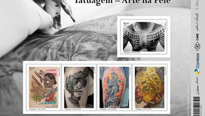 Nova emissão dos Correios - Tatuagem Arte na Pele