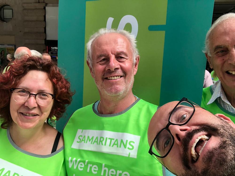 North London Samaritans at London Waterloo, 24/7