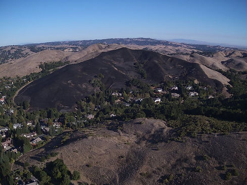 Moraga fire Sanders Ranch after.jpg