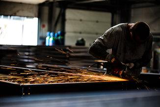 Sesja zdjęciowa - produkcja w Monolit Steel