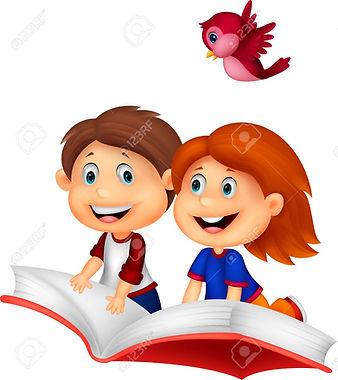 24469118-niños-felices-libro-de-dibujos-