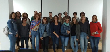 Octubre mes de la dislexia, Charla Nuria Ortíz y personal del centro Lupa; Inmaculada González y Marta López.