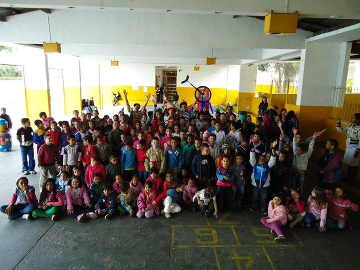 show infantil para escolas