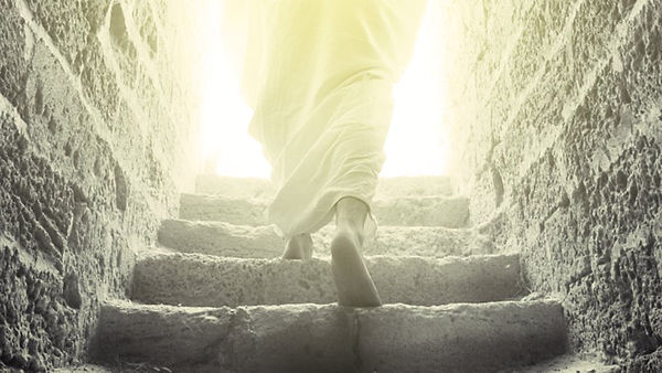 Jesus-Resurrection-Walking-out-of-Tomb-9